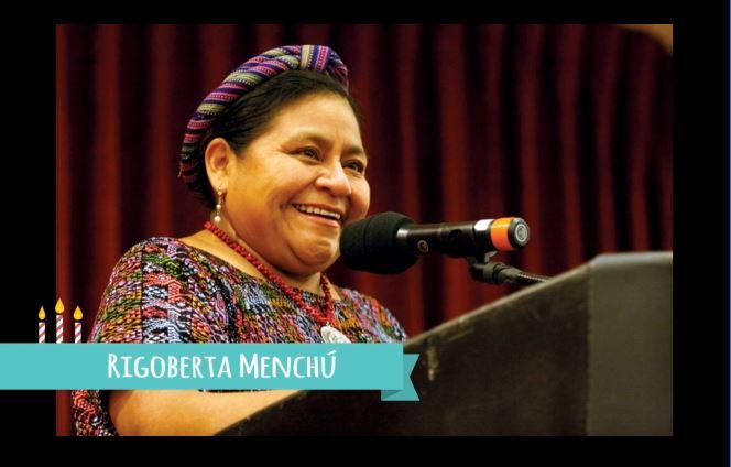 Rigoberta Menchú –SuperVioletas