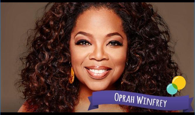 Oprah Winfrey –SuperVioletas