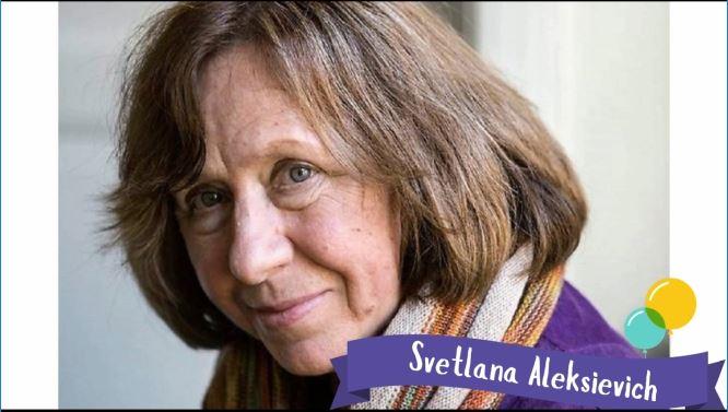 Svetlana Aleksiévich –SuperVioletas