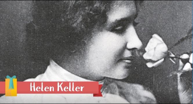 Helen Keller –SuperVioletas