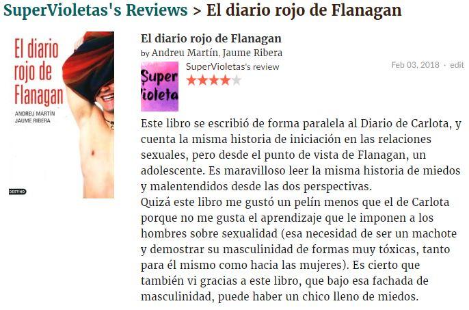 Diario flanagan