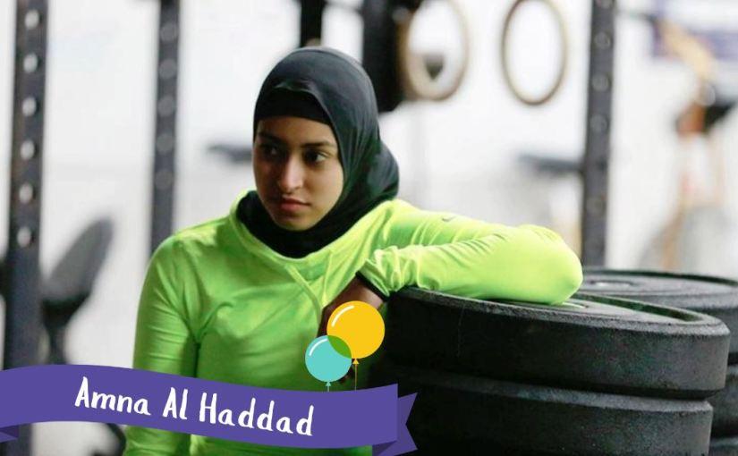 Amna Al Haddad –SuperVioletas