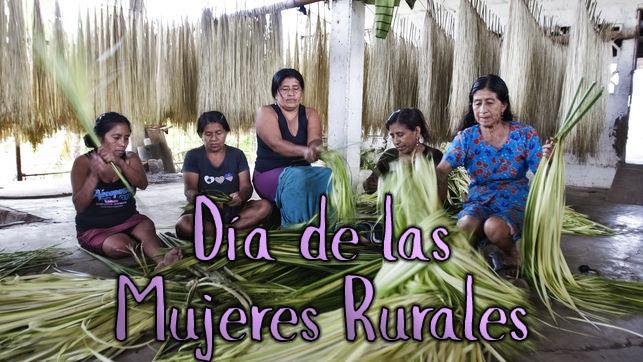 Día de las mujeres rurales –SuperVioletas