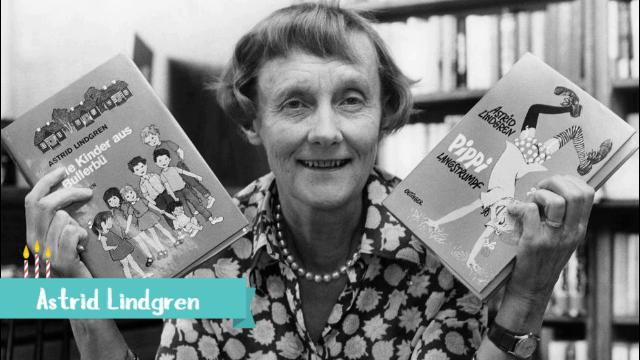 Astrid Lindgren –SuperVioletas