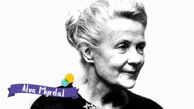Alva Myrdal –@SuperVioletas