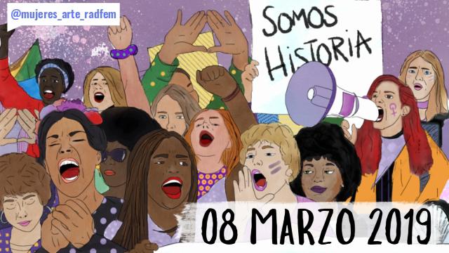 08 marzo 2019 –SuperVioletas