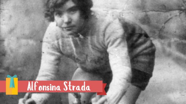 Alfonsina Strada –SuperVioletas