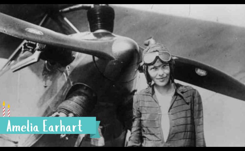 Amelia Earhart –SuperVioletas