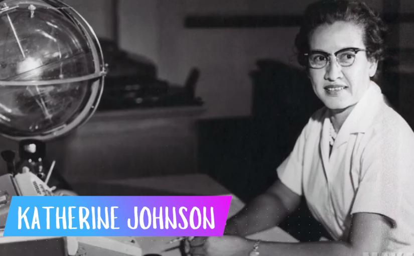 Katherine Johnson –SuperVioletas